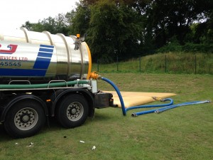 Waster Water Removal From Festival