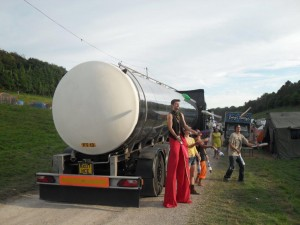 Water Tanker at Festival