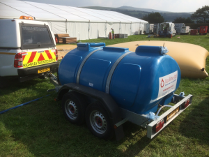 Bowser Hire for Event Water