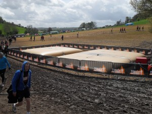 Water Storage at Tough Mudder