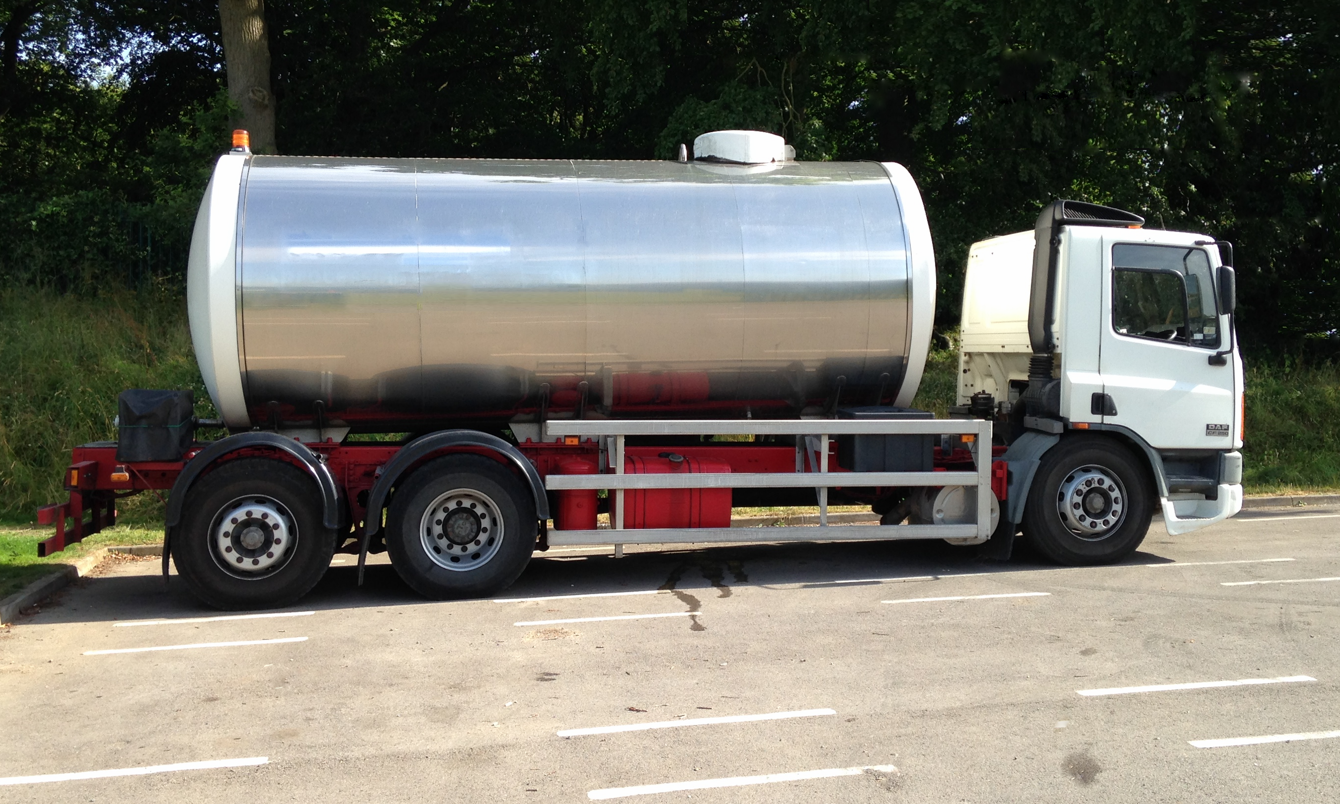 17000 litre drinking water tanker