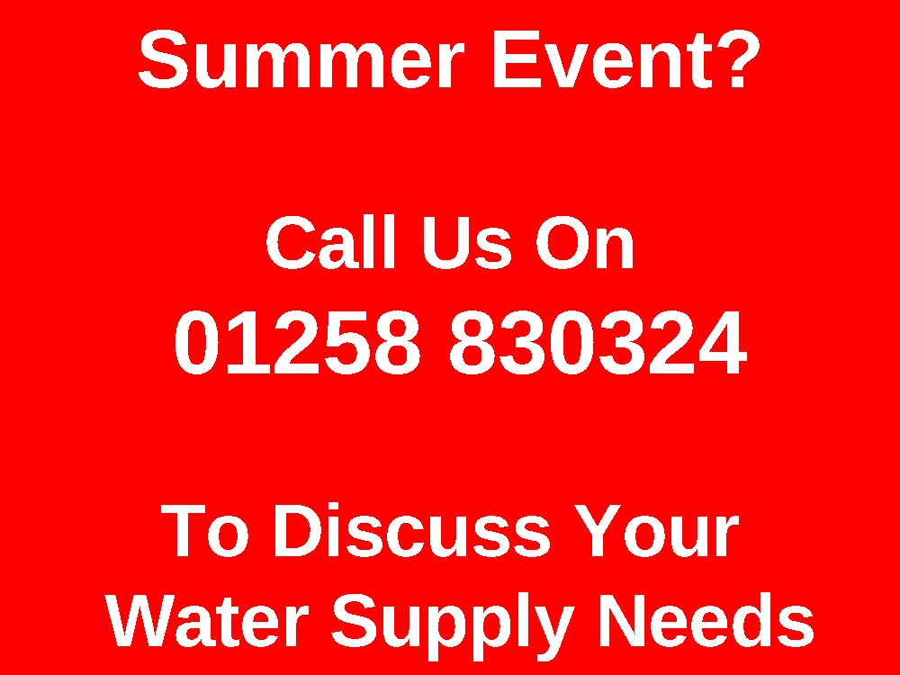 Event Water Supply, Event Water Services