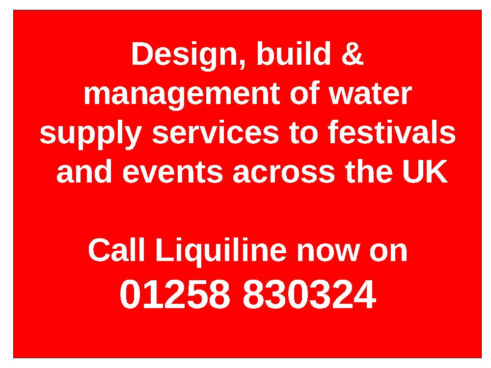 Festival Water Supplies