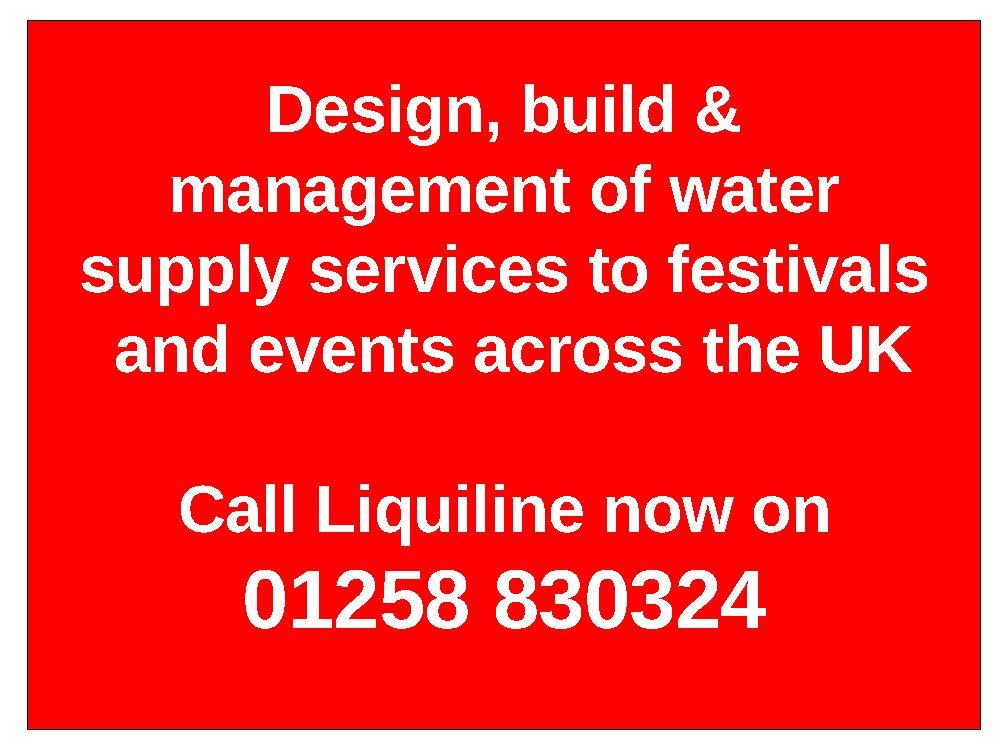 Festival Water Supplies